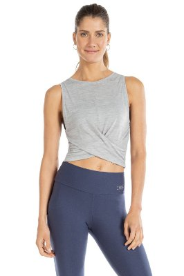 Blusa Cropped Live Everyday - mescla