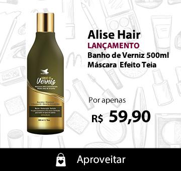 Alise Hair Banho de Verniz Máscara Efeito Teia 500ml