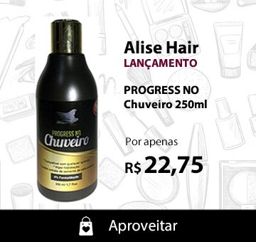Alise Hair Progress de Chuveiro 250ml - Lançamento