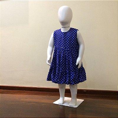Vestido Poá Infantil