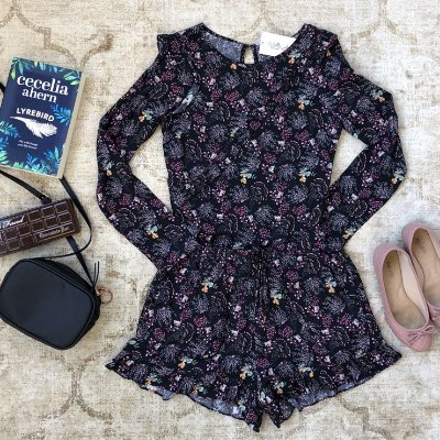 Conjunto Short/Blusa ML Mini Flowers