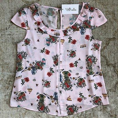 Blusa Cha de Flores