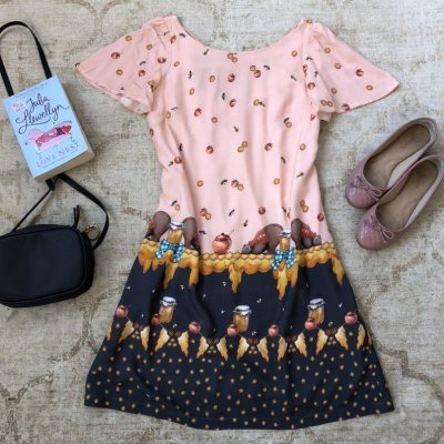 Vestido Estampa Honey Lazy Bear