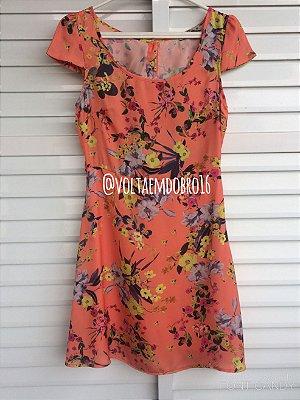 Vestido Flores Românticas