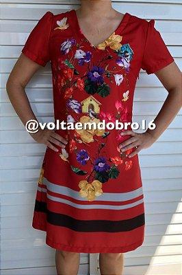 Vestido Floral Localizada