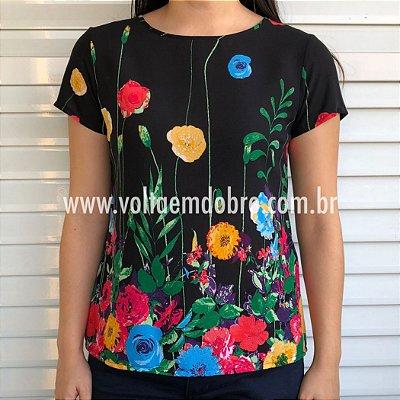 Blusa Explosão de Flores