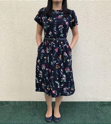 Vestido Plus Size Primavera Florida