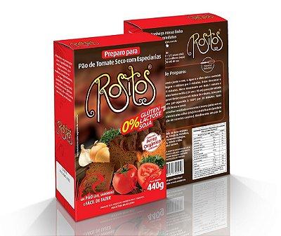 Preparo para Pão Tomate Seco e Especiarias sem glúten ROSITOS 440g
