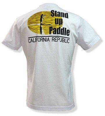 Camiseta Stand up paddle - Branca