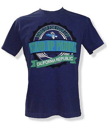 Camiseta Estonada - Azul