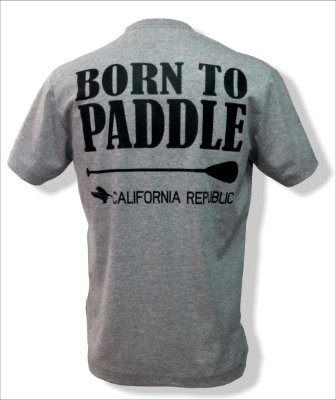 Camiseta Born to paddle - Mescla
