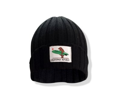 Gorro California Republic - Preto - canelado