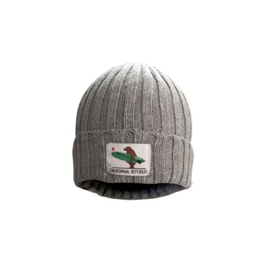 Gorro California Republic - Cinza - canelado