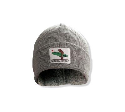 Gorro California Republic - Cinza