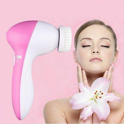 Massageador Facial Derma Spa Relaxante Preparador Limpeza Facial
