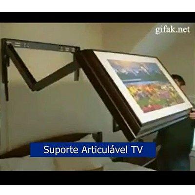 Suporte Quadro Articulável Cabeceira Cama TV Led LCD (encomendas sob medida)