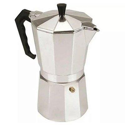 Cafeteira Tipo Italiana Moka Em Alumínio Para 2 Xicaras De Café