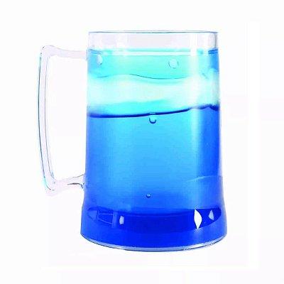 Caneca 450ml Colorida De Chopp Bebidas Acrílico Em Gel Congelante