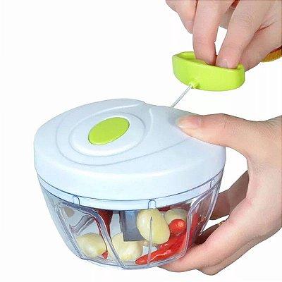 Triturador Picador Cortador De Alho Cebola Legumes Vinagrete Alimentos - Manual