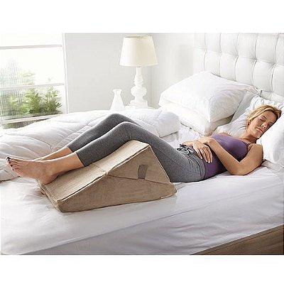 Travesseiro Almofada Encosto Para Cama Para Apoio E Descanso De Pes E Pernas