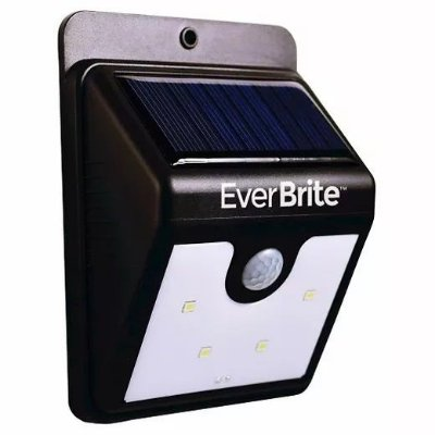 Luminária Refletor Solar De Corredor Parede Externa Com Sensor De Movimento