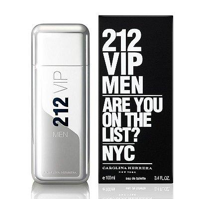 Perfume Importado Masculino 212 Vip Men Carolina Herrera 100ml 100% Original