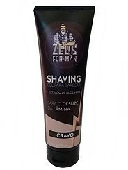 SHAVING GEL PARA BARBEAR - CRAVO