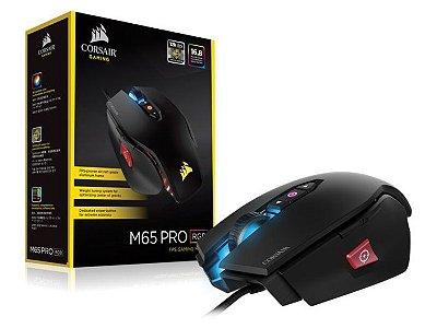 Mouse Gamer Corsair M65 Pro 12000 DPI Preto CH-9300011-NA