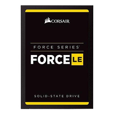 SSD Corsair Force LE 2.5´ 240GB SATA III 6Gb/s Leituras: 560MB/s e Gravações: 530MB/s - CSSD-F240GBLE200C