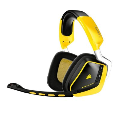 Headset Corsair Gaming Yellowjacket VOID Wireless Dolby 7.1 Edição Especial - CA-9011135-NA