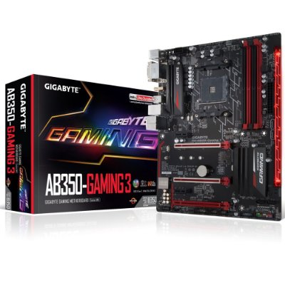 Placa-Mãe GIGABYTE AMD AM4 ATX GA-AB350-GAMING 3 DDR4