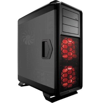Gabinete Corsair Gamer Graphite Series 760T Preto Full Tower com Acrilico CC-9011073-WW