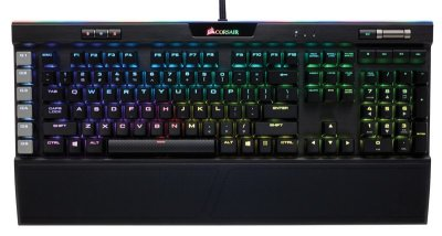 Teclado Corsair K95 RGB PLATINUM Gamer Cherry MX PT BR - CH-9127014-BR