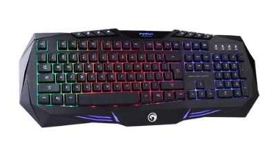 Teclado Gamer Marvo Scorpion RGB Multimedia