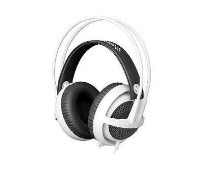 Headset Gamer Steelseries Siberia V3 Branco - 61356
