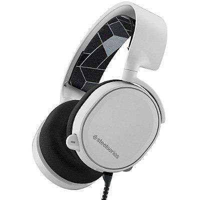 Headset Gamer Steelseries Arctis 3 White 7.1 - 61434