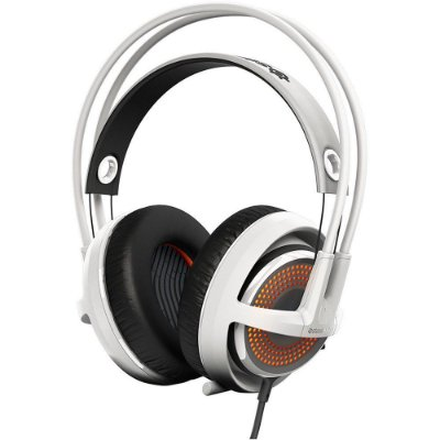 Headset Gamer Steelseries Siberia 350 White - 51204