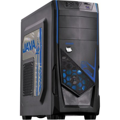 Gabinete PcYes Mid Tower Java Azul sem Fonte - 23584
