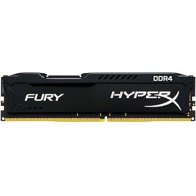 Memória Kingston HyperX FURY 8GB 2133Mhz DDR4 CL14 Black - HX421C14FB2/8