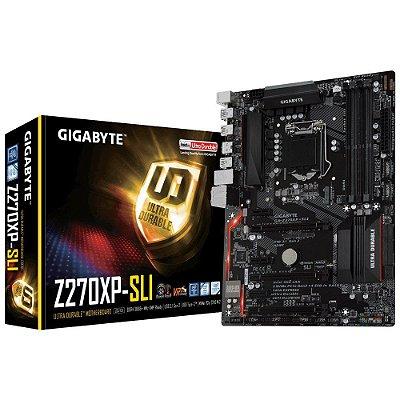 Placa-Mãe GIGABYTE Intel LGA 1151 ATX GA-Z270XP-SLI DDR4