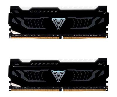 Memoria Patriot Viper 16GB (2x8) DDR4 2400MHz LED Branco - PVLW416G240C4K