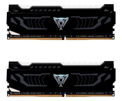 Memoria Patriot Viper 16GB (2x8) DDR4 3200 Mhz LED Branco - PVLW416G320C6K