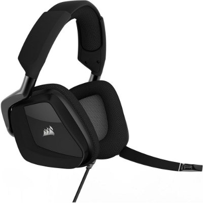 Headset Gamer Corsair Void RGB Dolby 7.1 Carbon - CA-9011154-EU