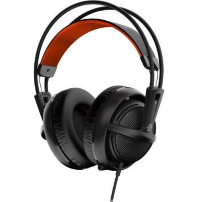 Headset Gamer Steelseries Siberia 200 Preto e Vermelho 51133