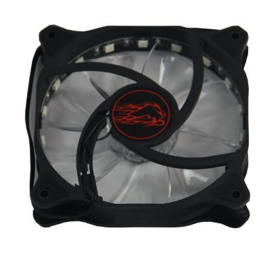 Ventilador Xtrike RGB (p/Gab. G7,8,9 ) 12cm 7-color 15 LED LIGHT