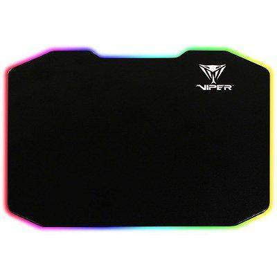 Mousepad Patriot com Led 35x24cm Viper - PV160UXK
