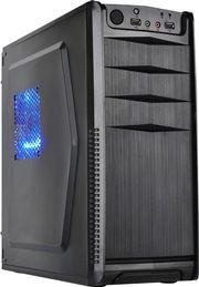Gabinete Newdrive Q1S USB/Audio/200W 2*Sata Black PN # Q1S ( 2 BAIAS / SEM VENTILADOR )