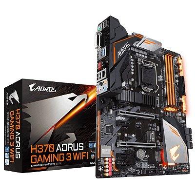 Placa Mae Gigabyte H370 AORUS Gaming 3 (1151/DDR4/HDMI/DVI/ATX)