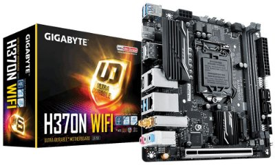 Placa Mae Gigabyte H370N WIFI (1151/DDR4/HDMI/mini ITX)