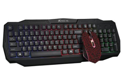 Combo Gamer Xtrike MK-501 Tec LED & Mou 800/3200 DPI